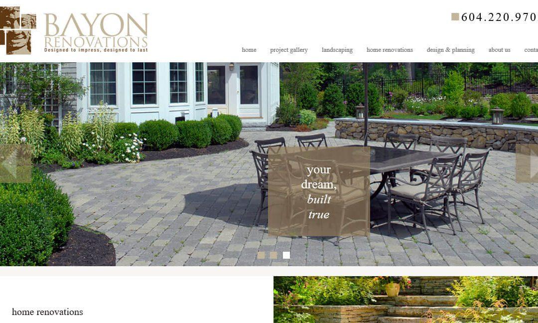 Bayon Renovations