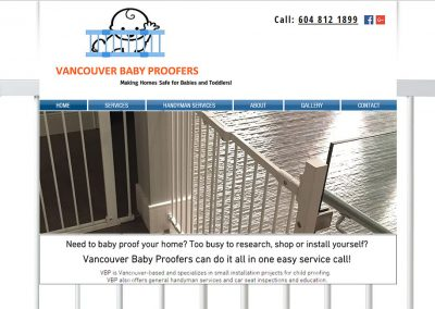 Vancouver Baby Proofers – Wix Designers Vancouver