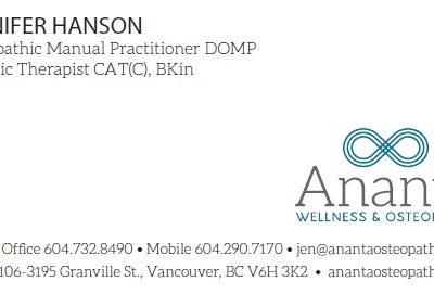 Ananta Wellness + Osteopathy