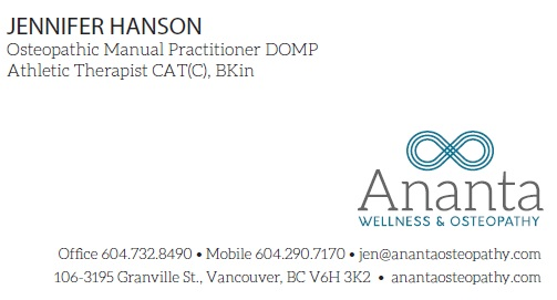 Ananta Wellness + Osteopathy