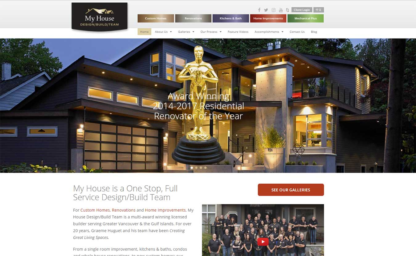 SEO For Home Builders   My House Design/Build Team   Lara Spence Web Design