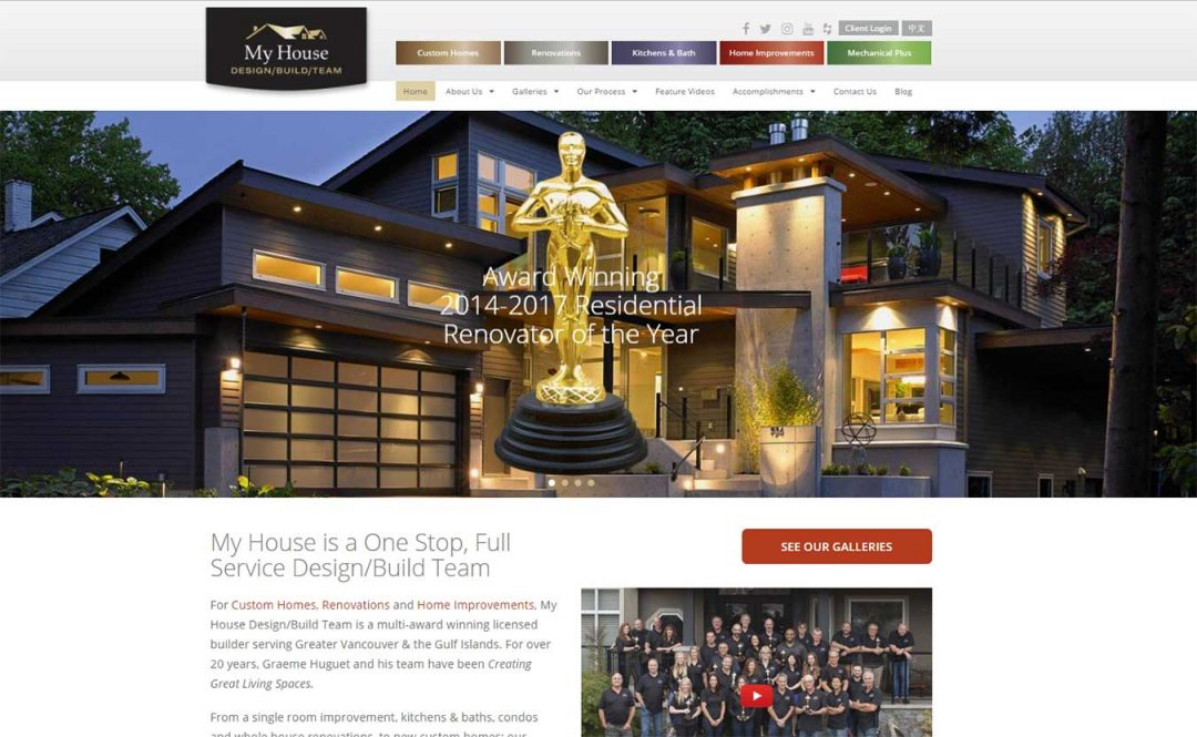 Seo For Home Builders My House Design Build Team Lara Spence Web
